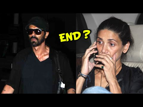 Arjun Rampal and Wife Mehr Rampal's Relation Ka TH
