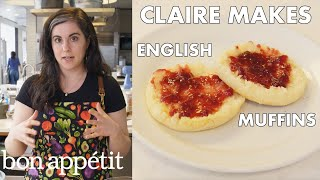 Claire Makes BAs Best English Muffins  From The Test Kitchen  Bon Appétit