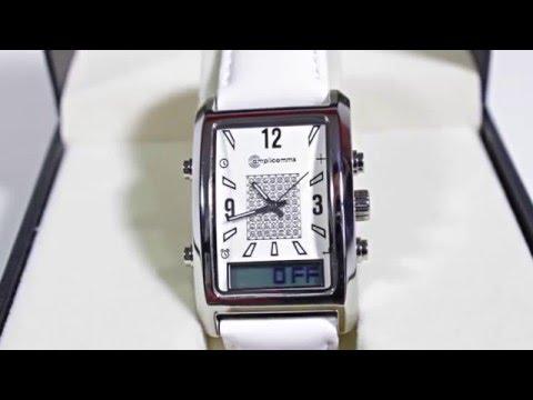 Vibrations-Armbanduhr für Damen Amplicomms AW 500 L