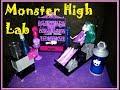 Monster High Laboratório Crie Seu Monstro! (Unboxing + Review)