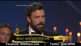 Ben Affleck Oscars Speech: 'You Gotta Get Up'