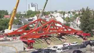 Time Lapses - Construcción y montaje del Puente Metálico Beiró II en Av. General Paz