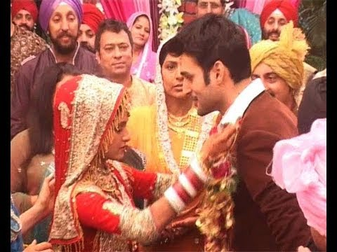 Bani weds Parmeet - Upcoming episode of Colors TV Show Bani Ishq Da Kalma-The two getting married