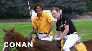 Video Conan Learns To Play Polo  - CONAN on TBS MP3, 3GP, MP4, WEBM, AVI, FLV Desember 2018