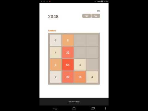 Video of 2048 Puzzle