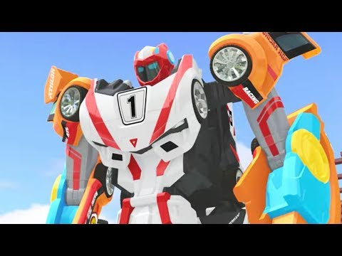 TOBOT Athlon English | 204A - Dazed and Deflected | NEW! | Season 2 Full Episode | Kids Cartoon