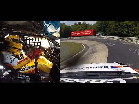 Racing the Green Hell Nordschleife full onboard WTCC 2015 Tom Coronel
