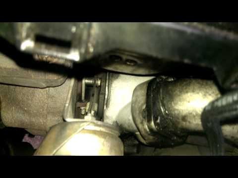 E46 320d turbo actuator movement