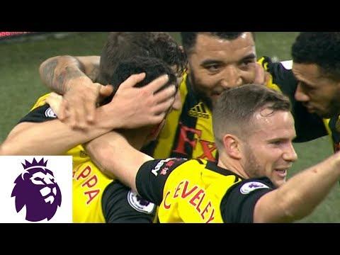 Video: Craig Cathcart's goal gives Watford the lead v. Tottenham | Premier League | NBC Sports