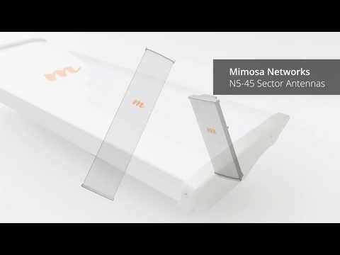 Mimosa Networks: N5-45 Sector Antennas Overview