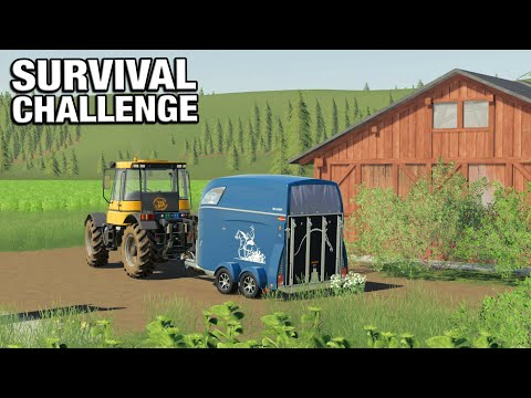 BUYING MORE HORSES - Survival Challenge No Mans Land FS19 Ep 68