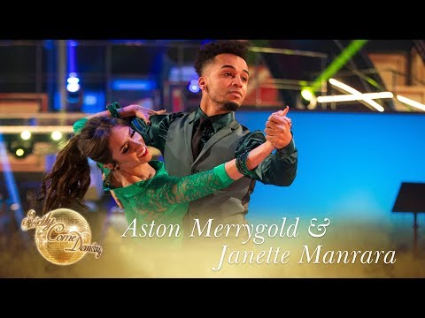 Aston Merrygold & Janette Manrara Quickstep to 'Mr Blue Sky' by ELO – Strictly 2017