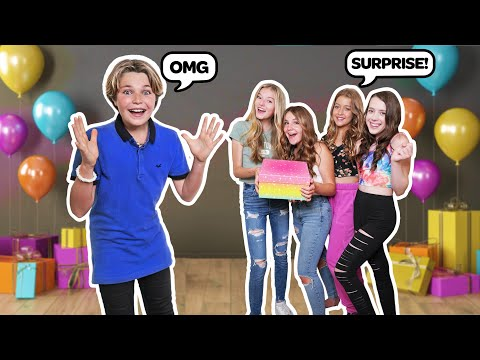 What I Got On My 13th BIRTHDAY! **SURPRISE BIRTHDAY PARTY** 🎂|Hayden Haas