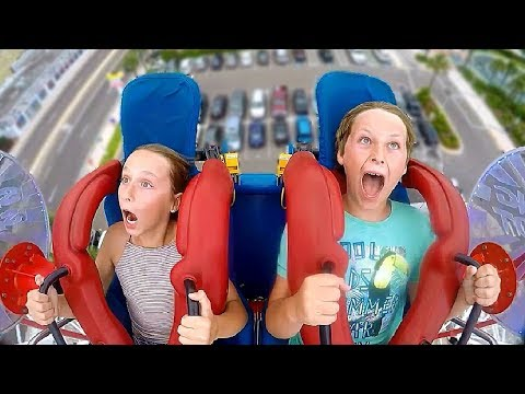 Funny quotes - Brother & Sister  Funny Slingshot Ride Compilation