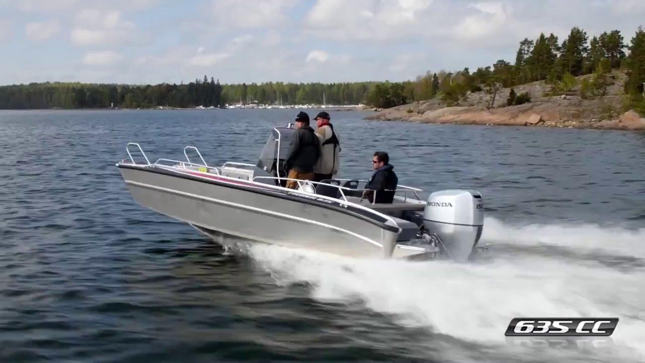 Алюминиевый катер с откидной аппарелью Faster 635 CC | Уникальный рабочий катер