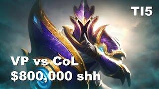 G Silencer GOD $800k Secured VP vs CoL TI5 Dota 2