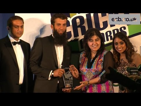 England Player Of The Year - England all-rounder Moeen Ali was crowned Professional Player of the Year at the inaugural Asian Cricket Awards which were staged at Lord's.