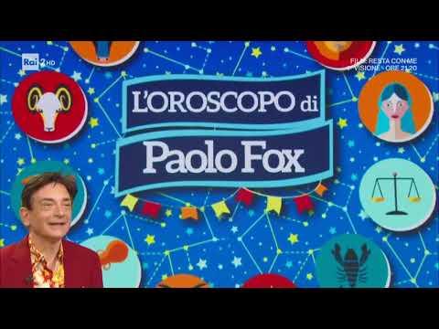 L'oroscopo di Paolo Fox - I Fatti Vostri 18/11/2020