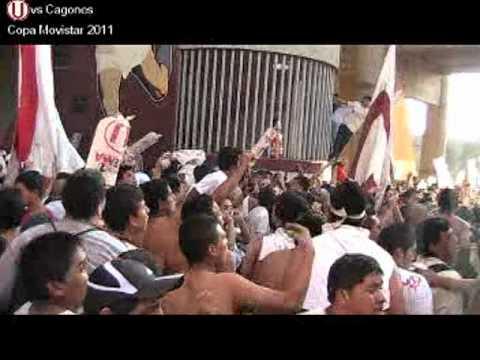 Video - (U) 2 - 1 Cagones Copa Movistar 2011 TRINCHERA NORTE 1 - Trinchera Norte - Universitario de Deportes - Peru