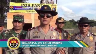 KAPOLDA BANGKA BELITUNG TURUN LANGSUNG PANTAU PAM INDO MXGP 2017 #TRIBRATA NEWS