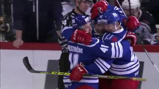 Frank Gymer first (and awesome) KHL goal