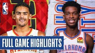 HAWKS at THUNDER | FULL GAME HIGHLIGHTS | January 24, 2020 by NBA
