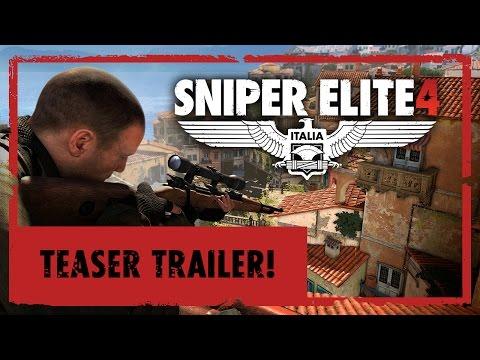 Słoneczna Italia i wielkie mapy - pierwszy zwiastun gry Sniper Elite 4
