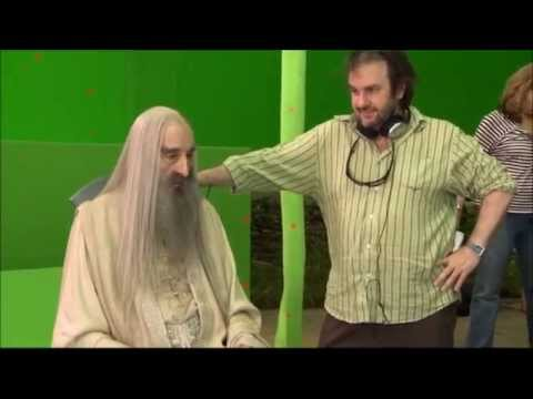 92 year-old Christopher Lee films his final scene for The Hobbit: Battle of the Five Armies, remains completely awesome