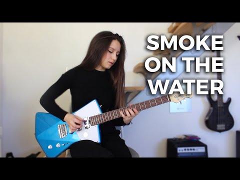 "Deep Purple  ""Smoke on the Water"" Cover by Rockloe"