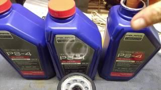 8. 2016 RZR 900S Oil Change