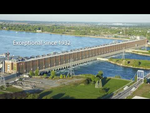 Welcome to Beauharnois generating station, exceptional since 1932.