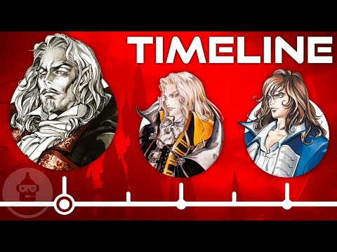 The Complete Castlevania Game Series Timeline! | The Leaderboard