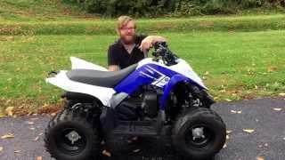 3. 2013 Yamaha Raptor 90