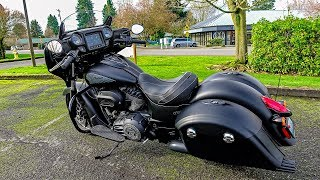 6. Indian 116� Stage-3 Kit!! • Chieftain Dark Horse Test Ride! | BikeReviews