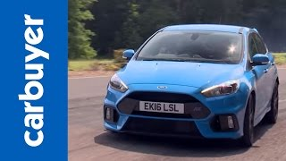Ford Focus RS hatchback 2016 review by Carbuyer