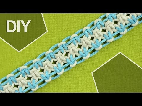 how to make a hemp belt