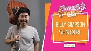 Billy Simpson - Sendiri (Acoustic Interview Part 1)