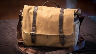 ONA Brixton - Field Tan Camera & Laptop Messenger Bag Review