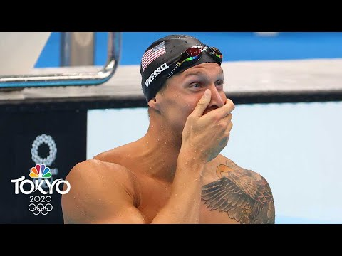 Caeleb Dressel wins gold, sets record in electrifying men's 100m free | Tokyo Olympics | NBC Sports