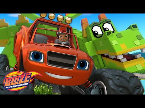 Video Game Heroes w/ Blaze! | Blaze and the Monster Machines