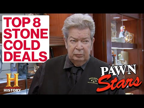 Pawn Stars: The Old Man's Top 8 *STONE COLD* Deals | History