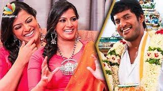 Video When is Vishal's Wedding ? : Varalaxmi Hilarious Interview | Sandakozhi 2 MP3, 3GP, MP4, WEBM, AVI, FLV Oktober 2018