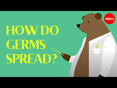 Spread - View full lesson: http://ed.ted.com/lessons/how-do-germs-spread-and-why-do-they-make-us-sick-yannay-khaikin-and-nicole-mideo Germs are found on almost every surface we come in contact with,...