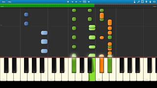 Avicii - What Would I Change it to (feat. AlunaGeorge): Synthesia Piano Tutorial