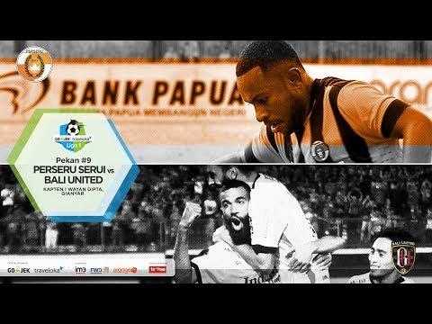 PERSERU SERUI VS BALI UNITED FC. GOJEK TRAVELOKA LIGA 1 2017