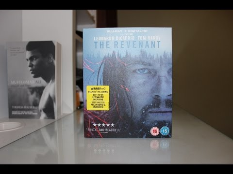 The Revenant Unboxing (Blu-ray + Digital HD)