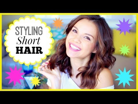 How I Style My Short Hair!