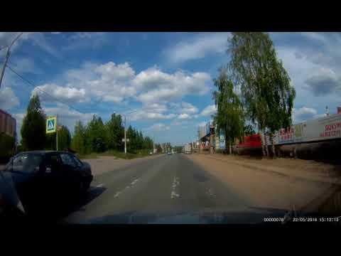 Авария с пешеходом в Сосновом Бору