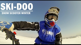 10. 2017 Ski Doo Expedition Sport 550F winter action