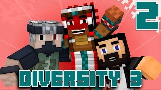 Team Canada Plays DIVERSITY 3 - EP02 (Custom Minecraft Map)